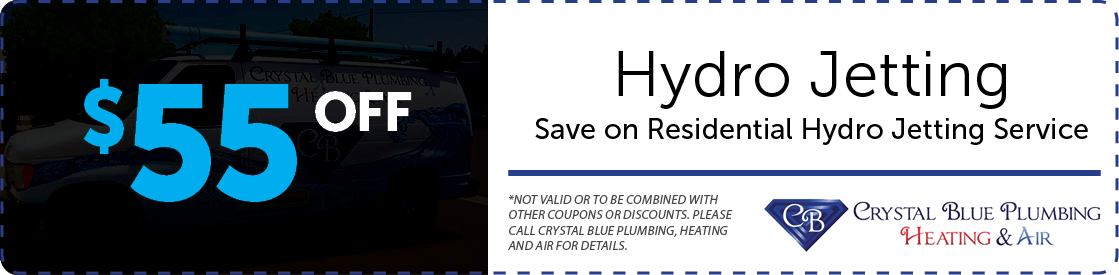 $55 off of Hydro Jetting